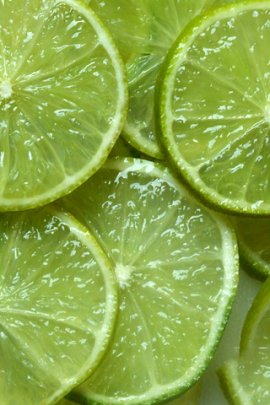 Lime slices (click to view)