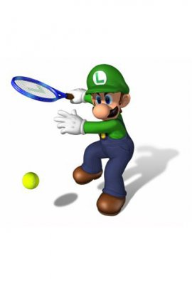 Mario playing tennis (click to view)