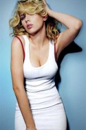 Scarlet Johanson  bad girl look